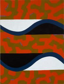 Coming Apart, 1989-90, oil on canvas, 68 x 52 inches
